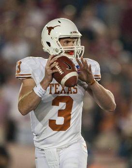 Texas Qb Gilbert Out For The Season National Football Post