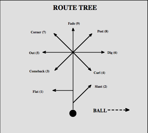 Image result for route tree football
